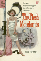 Cover of 'The Flesh Merchants' by Ross Thomas, from the Reading California Fiction site